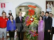 Presidente de organización de masas felicita 70 años de Cruz Roja de Vietnam