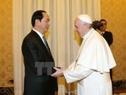 El Vaticano aspira a promover nexos con Vietnam, dijo Papa Francisco