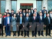Premier vietnamita se reúne con electores en ciudad norteña de Hai Phong