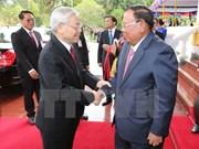 Visita del secretario general del PCV promueve solidaridad especial con Laos
