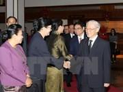 Líder del Partido Comunista de Vietnam concluye visita oficial a Laos