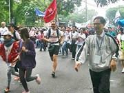 Iniciarán carrera a favor de niños Hanoi 2016 en diciembre próximo