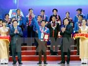 Entregan en Vietnam premios a jóvenes campesinos sobresalientes