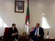 Promueven cooperación económica entre Vietnam y Argelia