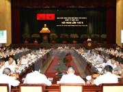 Sesiona octava reunión del Comité Partidista de Ciudad Ho Chi Minh