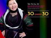 Forbes Vietnam honra a mujer de etnia minoritaria Mong