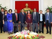 Alto funcionario de Camboya reitera esfuerzos por fomentar nexos con Vietnam