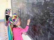 UNICEF promete ayudar a Vietnam con la protección de los niños