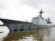 Buques navales de Sudcorea visitan puerto vietnamita de Cam Ranh