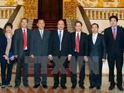 Premier pide a agencias de noticias de Vietnam y Laos a fomentar cooperación bilateral