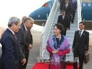 Inicia presidenta parlamentaria de Vietnam visita oficial a India