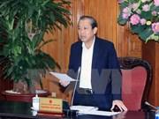 Vicepremier vietnamita pide acelerar la reforma administrativa