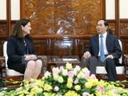 Presidente vietnamita solita cooperación de EE.UU. para la organización de APEC 2017