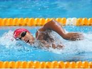 Nadadora vietnamita gana seis medallas de oro en torneo regional