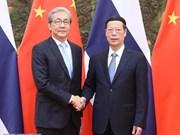 Tailandia y China impulsan cooperación en comercio e inversión