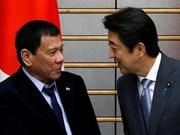 Japón y Filipinas buscan medidas de cooperación contra delitos de drogas