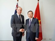 Fuerzas de seguridad pública de Vietnam fortalecen vínculos con Australia