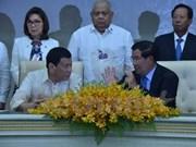 Camboya y Filipinas fortalecen cooperación bilateral