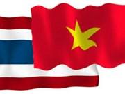 Vietnam y Tailandia buscan fortalecer cooperación comercial