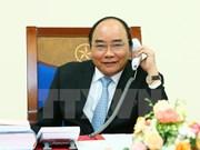 Primer ministro de Vietnam sostiene diálogo telefónico con Donald Trump
