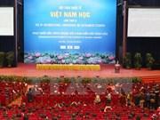 Concluye quinto seminario científico internacional de Vietnamología