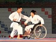 Campeón mundial Koji Arimoto compite en torneo de Karate Shoto Asia-Japón