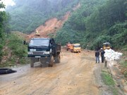Vicepresidenta visita zonas de Quang Nam afectadas por inundaciones
