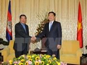 Amplias actividades del premier camboyano en Vietnam