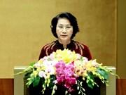 Presidenta del Parlamento de Vietnam recibe a embajadores de Sudcorea e Irán