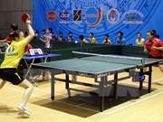 Vietnam se corona por primera vez en torneo regional de tenis de mesa
