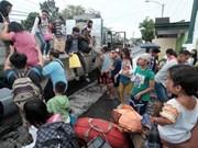 Filipinas: Al menos un muerto durante el paso del tifón Nock-Ten