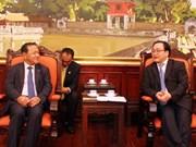 Refuerzan cooperación entre Hanoi y Phnom Penh