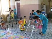 Proyecto fundado por Alemania beneficia a discapacitados en Vietnam