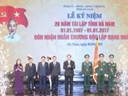 Presidente exhorta a Ha Nam a desarrollar industrias de alto valor agregado