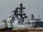 Barcos militares de Rusia visitan Filipinas