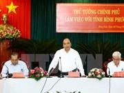Premier vietnamita urge a desarrollar agricultura inteligente en provincia sureña