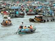 Can Tho impulsa la preservación del mercado flotante de Cai Rang