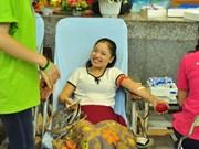 Celebrarán en 25 localidades vietnamitas campaña dominical de donación de sangre