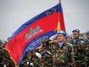 Camboya envía tropas al Líbano para la misión de mantenimiento de paz