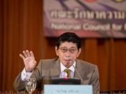 Tailandia realizará elecciones 19 meses tras aprobación de nueva Constitución