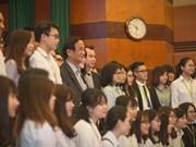 Inauguran Parlamento Juvenil Simulado en Hanoi