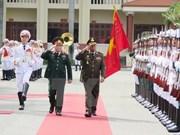 Vietnam y Laos siguen robusteciendo cooperación militar