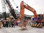 Ha Giang construye nuevo puente para aliviar atasco del tráfico