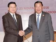 Inauguran puerta fronteriza entre Camboya y Laos