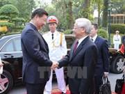 Prensa china presta atención a próxima visita del líder partidista de Vietnam