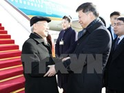 Máximo líder partidista de Vietnam inicia visita oficial a China