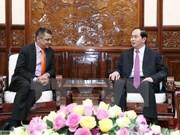 Presidente de Vietnam recibe al ejecutivo del grupo indio TATA