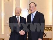 Vietnam y China intercambian experiencias en reforzamiento partidista