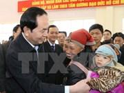 Presidente vietnamita pide prestar atención a hogares pobres en ocasión de Tet