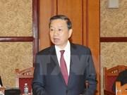 Ministro vietnamita se reúne con altos funcionarios chinos de Seguridad